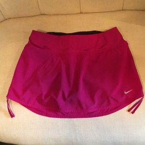 Nike tennis skort, size S